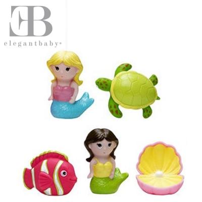 Elegant Baby 洗澡玩具5入組-海底世界
