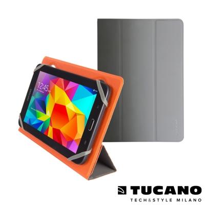 TUCANO Verso 7吋平板通用雙面可站立保護套- 橘/灰
