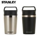 【美國Stanley】冒險系列輕巧隨身兩用保溫杯236ml-黑色
