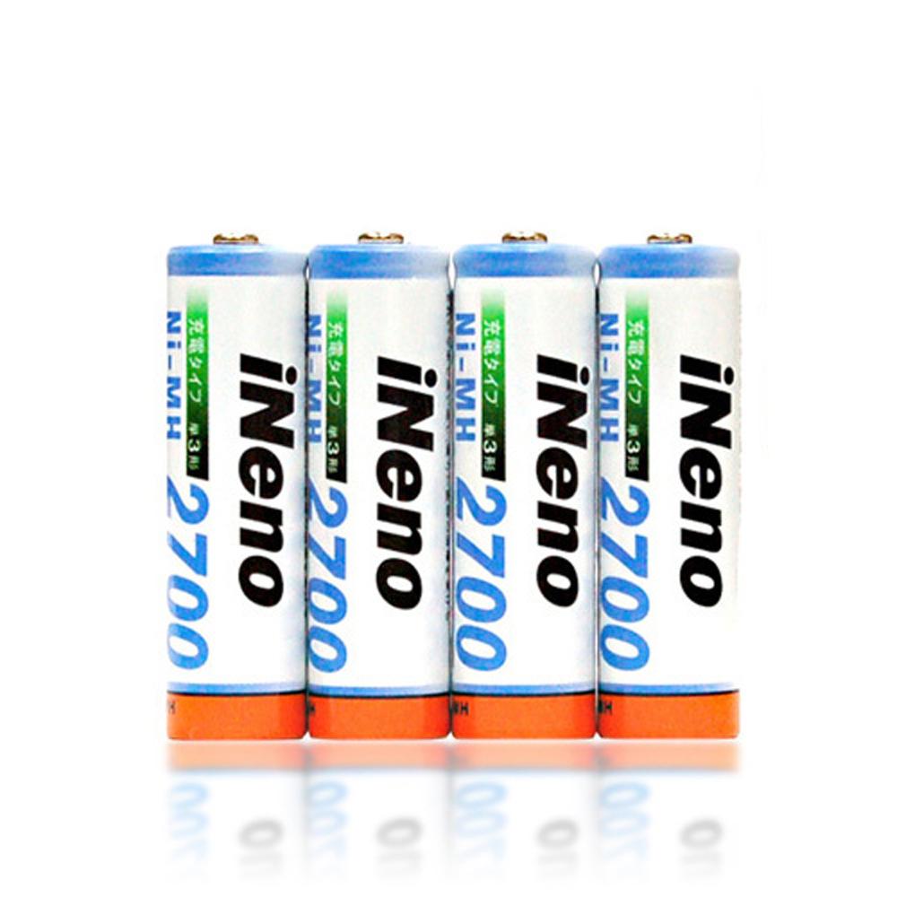 iNeno3號高容量鎳氫充電電池12入