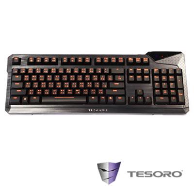 TESORO 鐵修羅 杜蘭朵終極版V2 機械式鍵盤(紅軸-中文版)