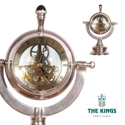 THE KINGS~Time Traveler時空旅人復古工業桌鐘