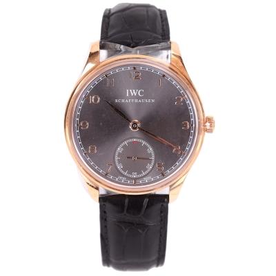 IWC 萬國錶 IW545406 Portuguese 萬國玫瑰金錶殼手動上鍊腕錶44mm