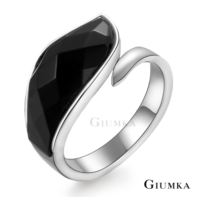 GIUMKA 風湧再起 白鋼戒指