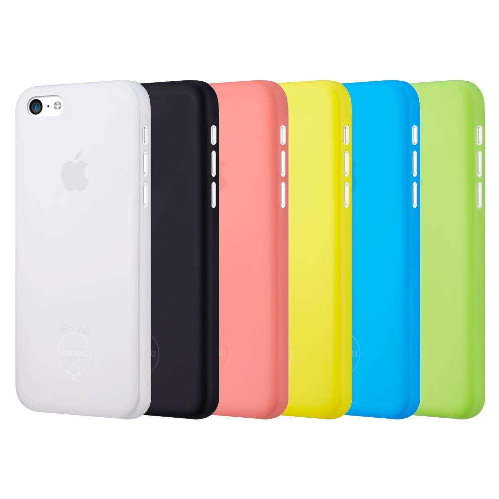 Ozaki O!coat 0.3 Jelly iPhone5C超薄保護殼