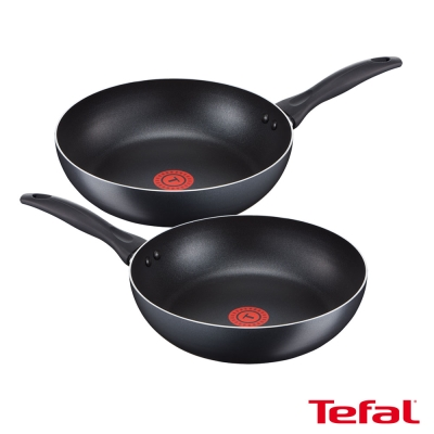 [買一送一超值組] Tefal法國特福 輕食光系列不沾平底鍋24CM (8H)