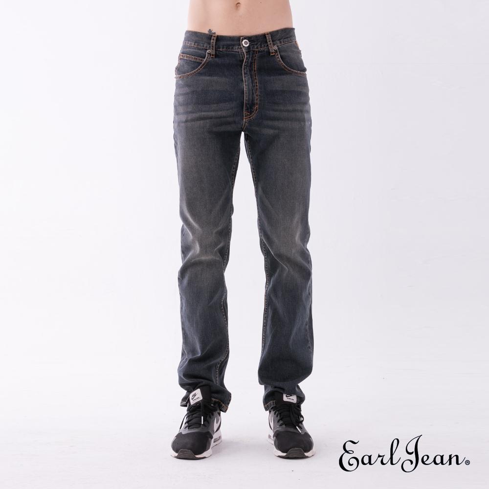 Earl Jean 410 Willis高腰合身窄管褲-深藍-男