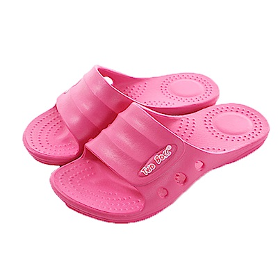 台灣製輕量舒適拖鞋 桃 sk0320 魔法Baby