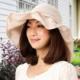 Sunlead 名媛款。可塑型帽緣防曬護頸透