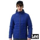 Lee 連帽舖棉外套/RG-男款-藍色