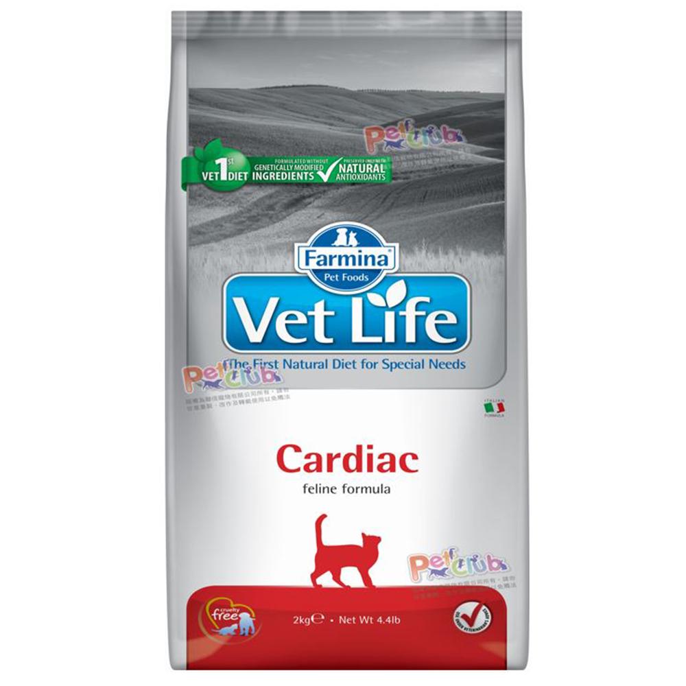 Farmina法米納 獸醫寵愛天然處方系列-貓用心血管配方 2kg