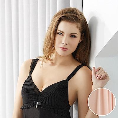 華歌爾睡衣 伊珊露絲 蕾絲系列 M-L 裙裝(粉膚)透膚舒適首選