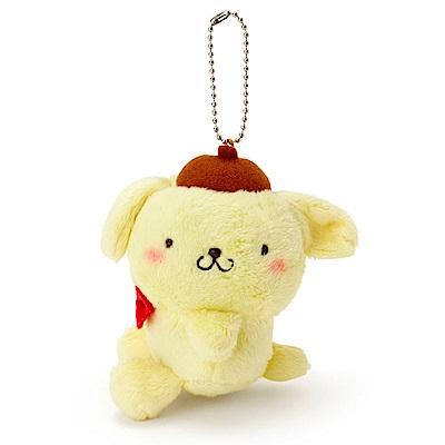Sanrio 布丁狗害羞臉紅紅側坐玩偶吊鍊