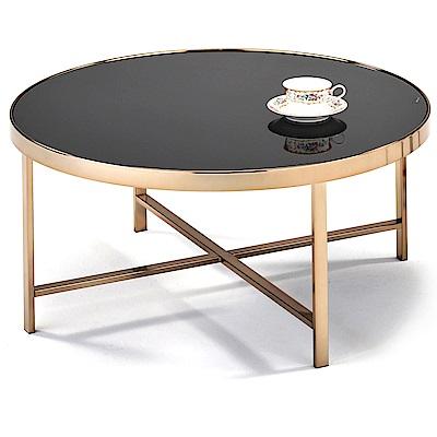 aaronation 愛倫國度 - 低調玫瑰金咖啡桌NC-A396RG-BG