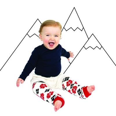 美國 BabyLegs 嬰幼兒襪套 (阿爾卑斯山)