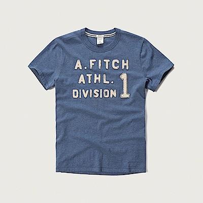 AF a&f Abercrombie & Fitch 短袖 T恤 藍色 0411