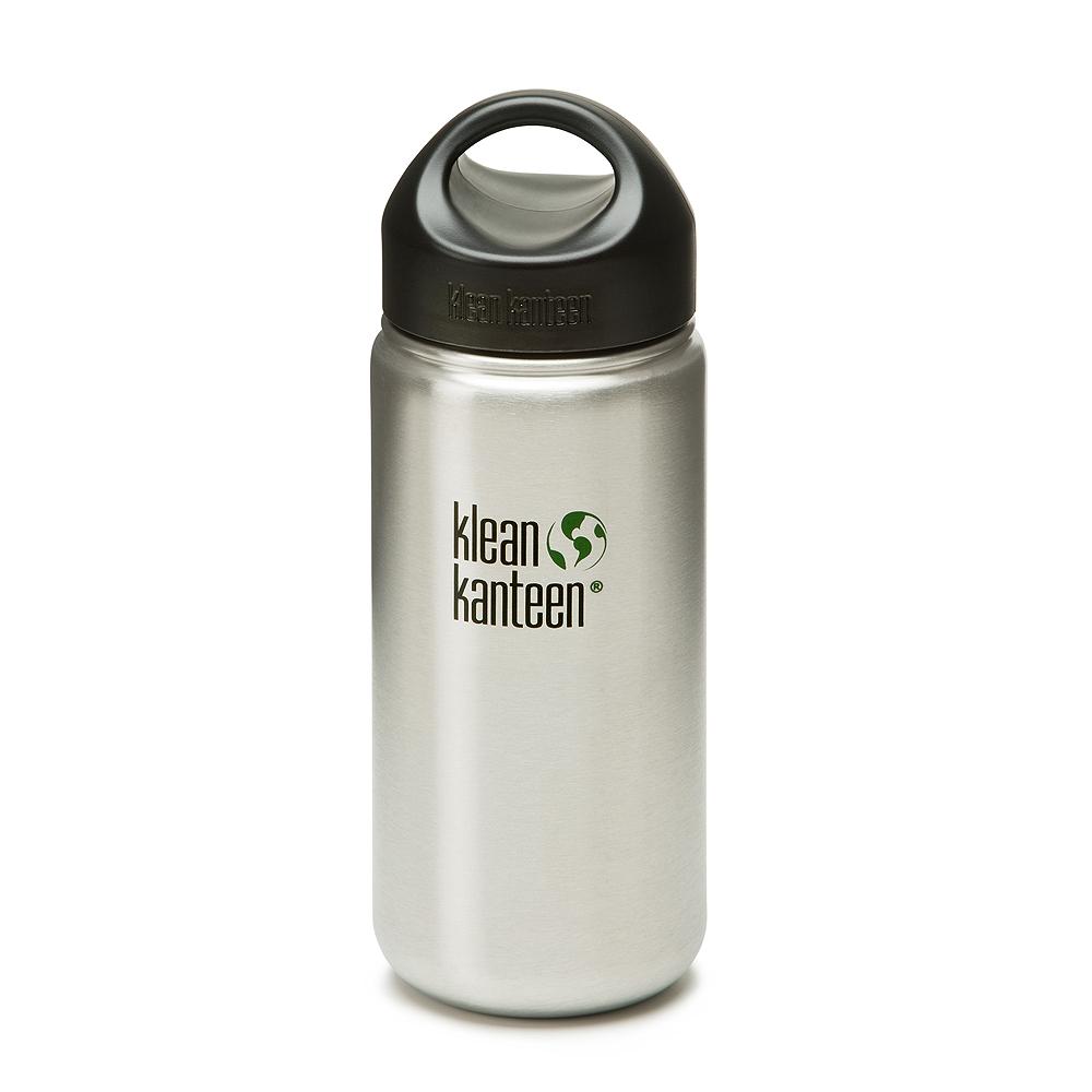 美國 Klean Kanteen 可利寬口鋼瓶532ml-原色鋼