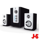 JS JY3060 2.1聲道全木質多媒體喇叭