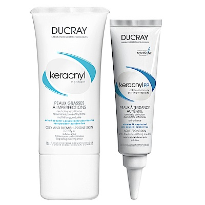 DUCRAY護蕾 淨荳K油平衡毛孔組