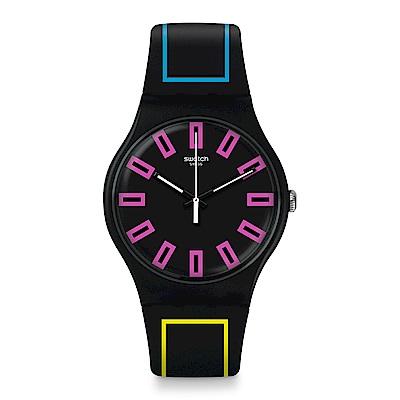 Swatch The Swatch Vibe AROUND THE STRAP螢光環繞手錶