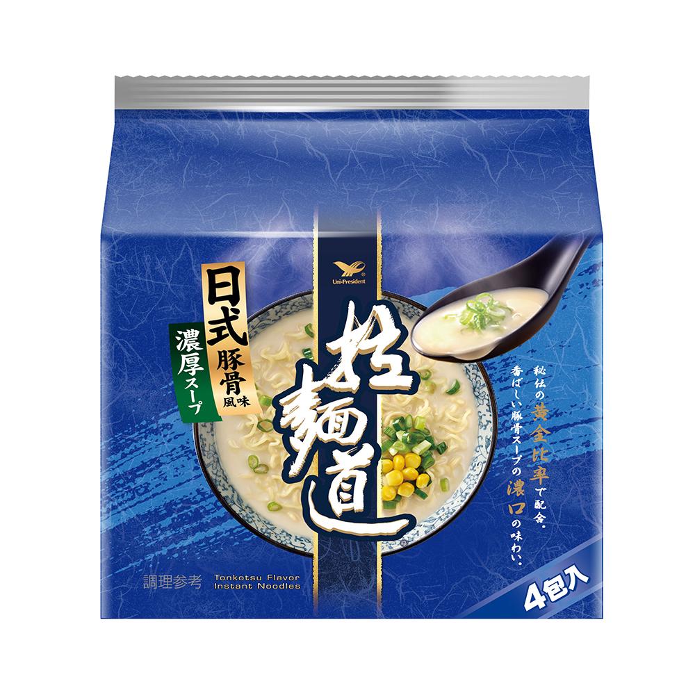 拉麵道 日式豚骨風味拉麵(24入/箱)