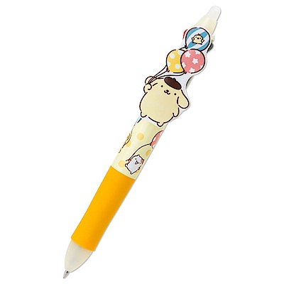 Sanrio 布丁狗*PILOT百樂FRIXION 0.38mm三色按鍵擦擦筆(繽紛氣球)