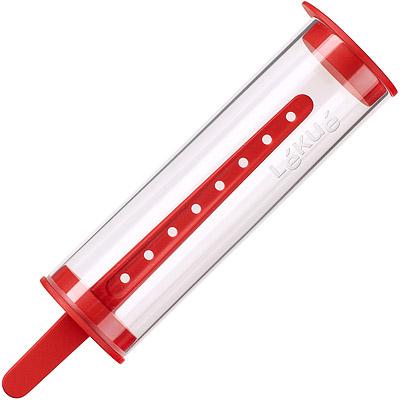 LEKUE 筒形冰棒模(紅)