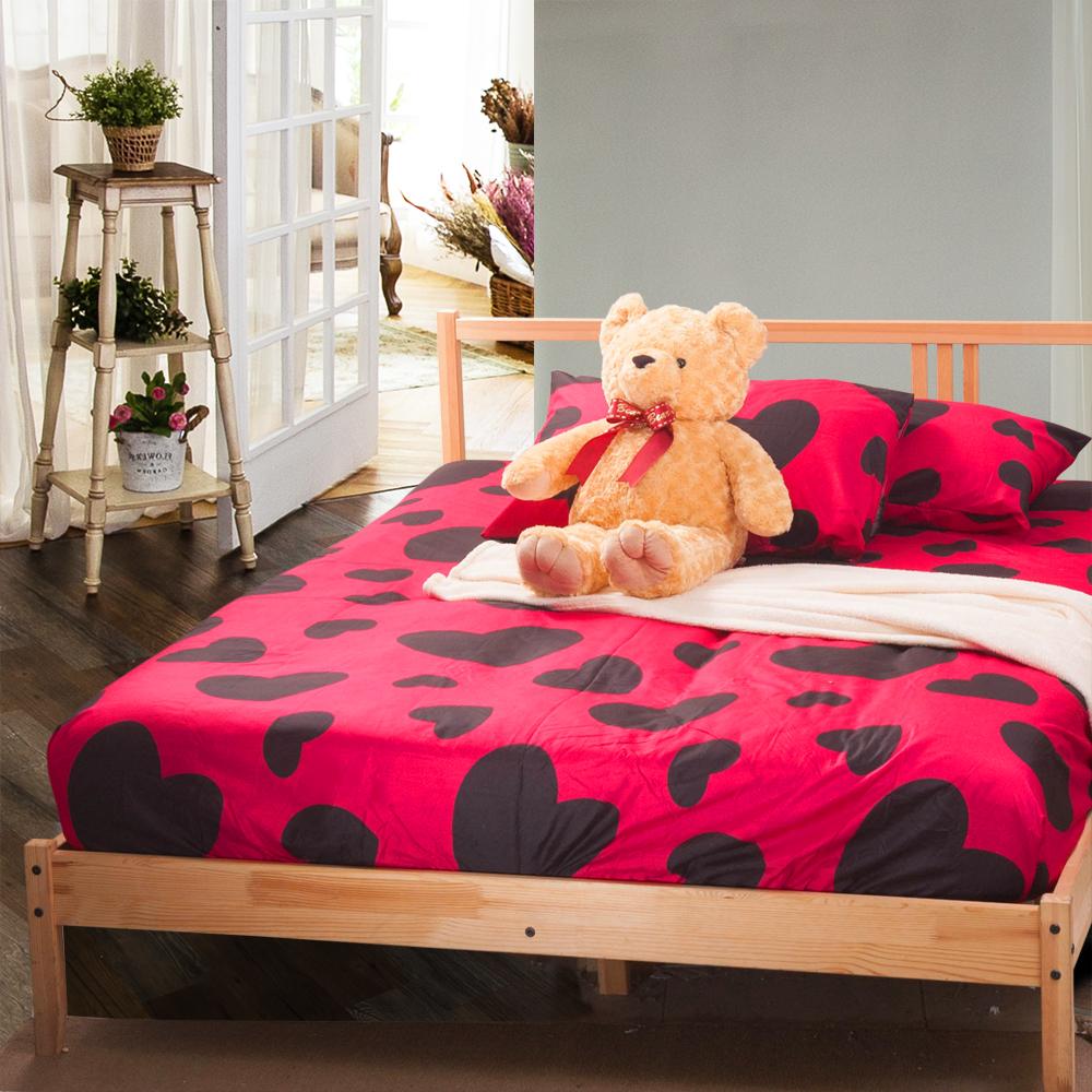 Carolan-心動 加大床包枕套組