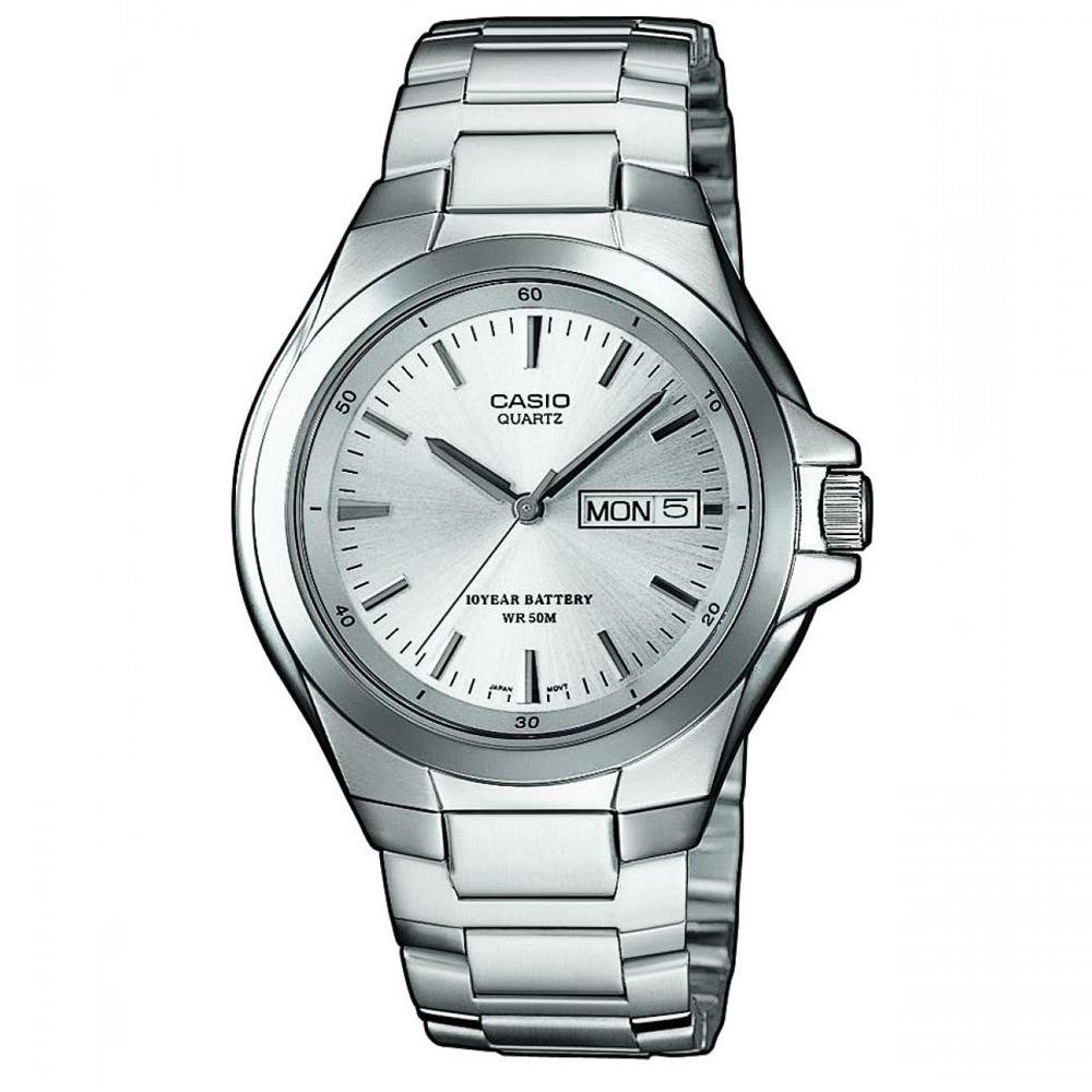 CASIO 經典復古型指針紳士錶(MTP-1228D-7A)-白/40mm
