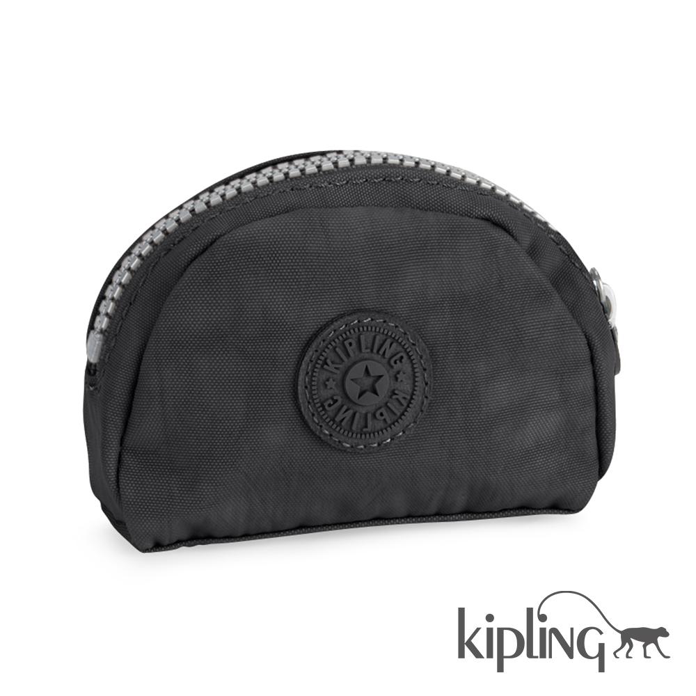 Kipling 零錢包 柏油黑素面-小