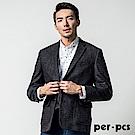 per-pcs 英式休閒時尚獵裝_黑灰(817901)