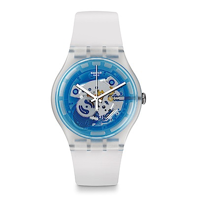 Swatch The Swatch Vibe BLUMAZING 迷幻寶藍手錶