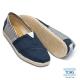 TOMS 經典學院風懶人鞋-女款(藍)