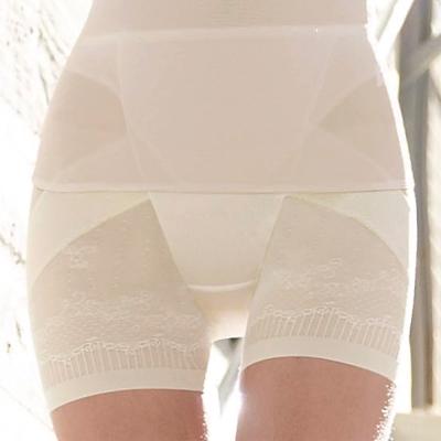 曼黛瑪璉-羽涼級‧輕鬆塑   高腰短管縮腹提臀褲(高雅膚)