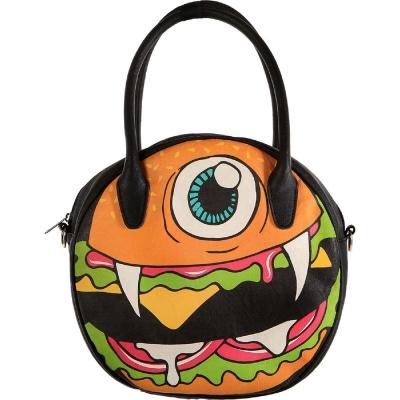 【摩達客】美國Iron Fist鐵拳搖滾圓餅造型漢堡包