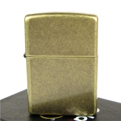 【ZIPPO】美系~Antique Brass-仿古鍍黃銅打火機
