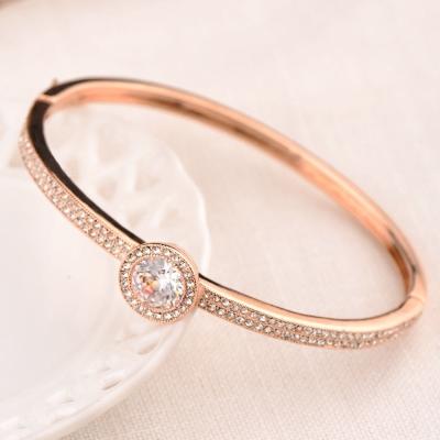 微醺禮物 水鑽 鍍K金 雍容的禮物 手環