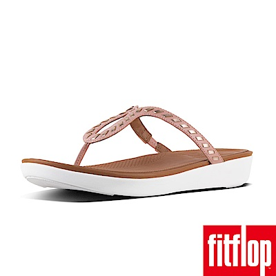 FitFlop STRATA TOE-THONG SANDALS灰粉