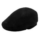 RALPH LAUREN POLO  簡約單色混羊毛扁帽-黑色