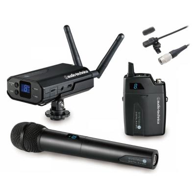 鐵三角 攝相機用無線麥克風(手握.腰掛) ATW-1702A