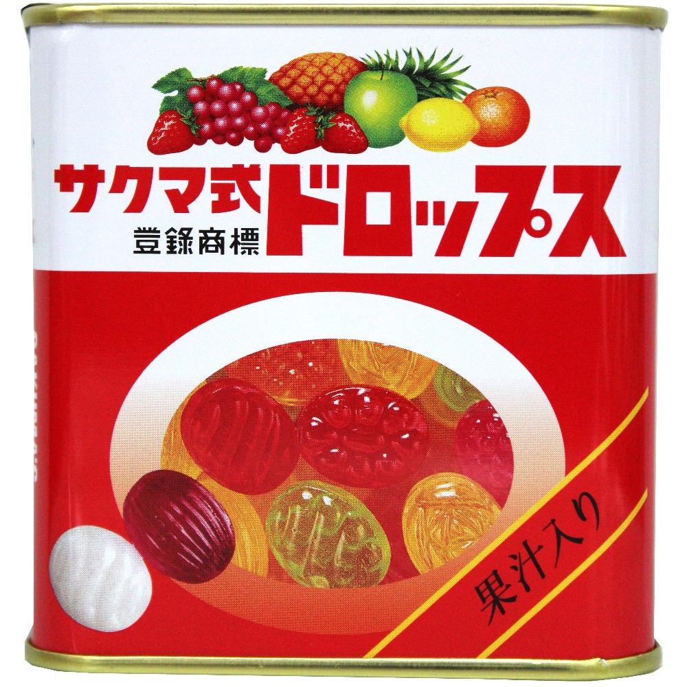 佐久間 綜合水果糖罐(75g)