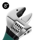 自緊王 專利V型活動扳手 8吋 萬用板手 管鉗/維修