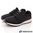 日本Moonstar戶外健走鞋-涼感止滑系列-1776黑(男段)