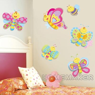 飛舞蜻蜓造型創意壁貼_LK-RCA0504