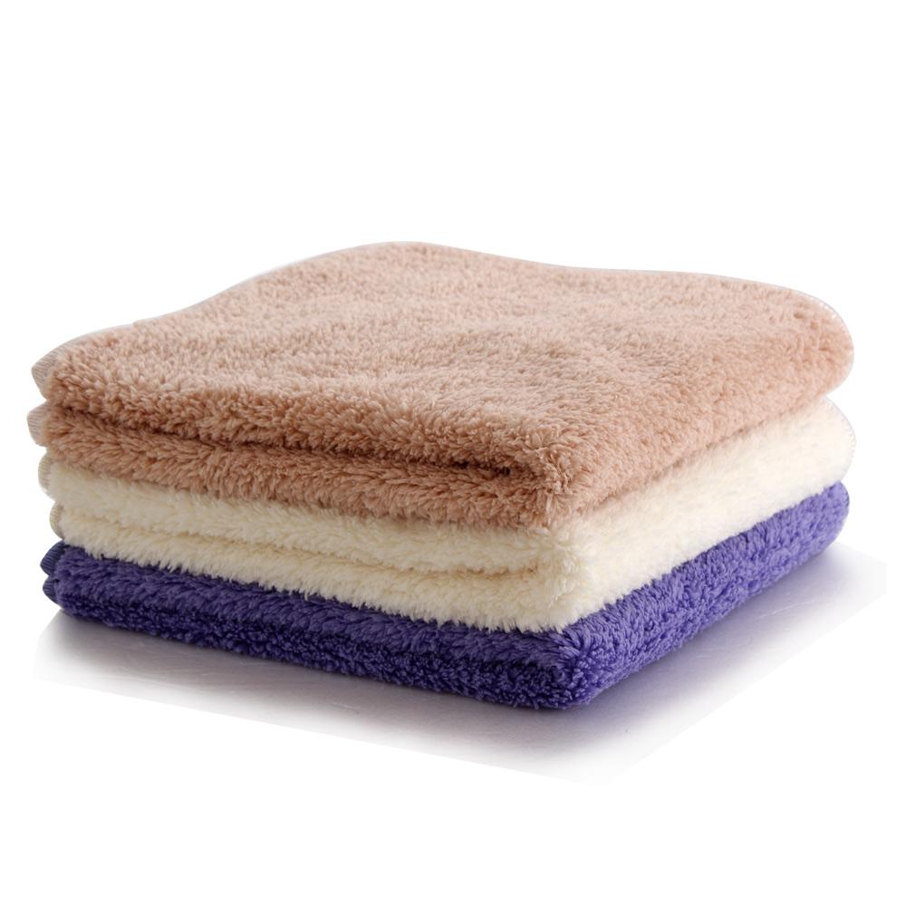 Lovel 3M高質感超細纖維絨毛方巾3件組(共6色)