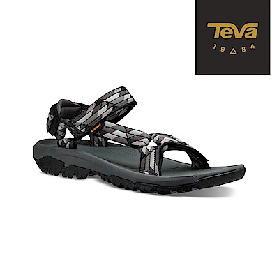 TEVA 美國-男 Hurricane XLT2 機能運動涼鞋 幾何黑