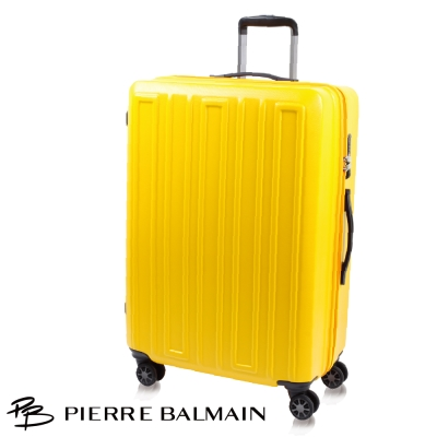 PB皮爾帕門 27吋 獨家雙層齒防爆拉鍊 行李箱 - 100%PC系列