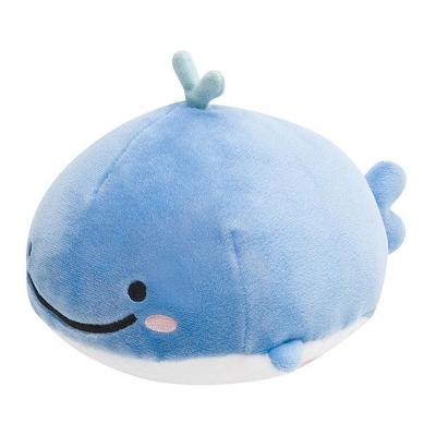 鯨鯊先生迷路小藍鯨系列超柔軟QQ毛絨公仔 (S)。小藍鯨
