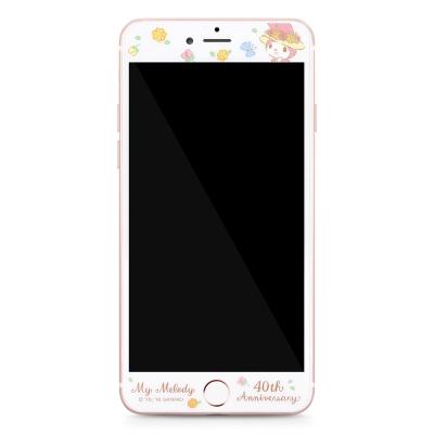 GARMMA My Melody iPhone 6/6S+ 5.5吋鋼化玻璃膜-花顏巧語