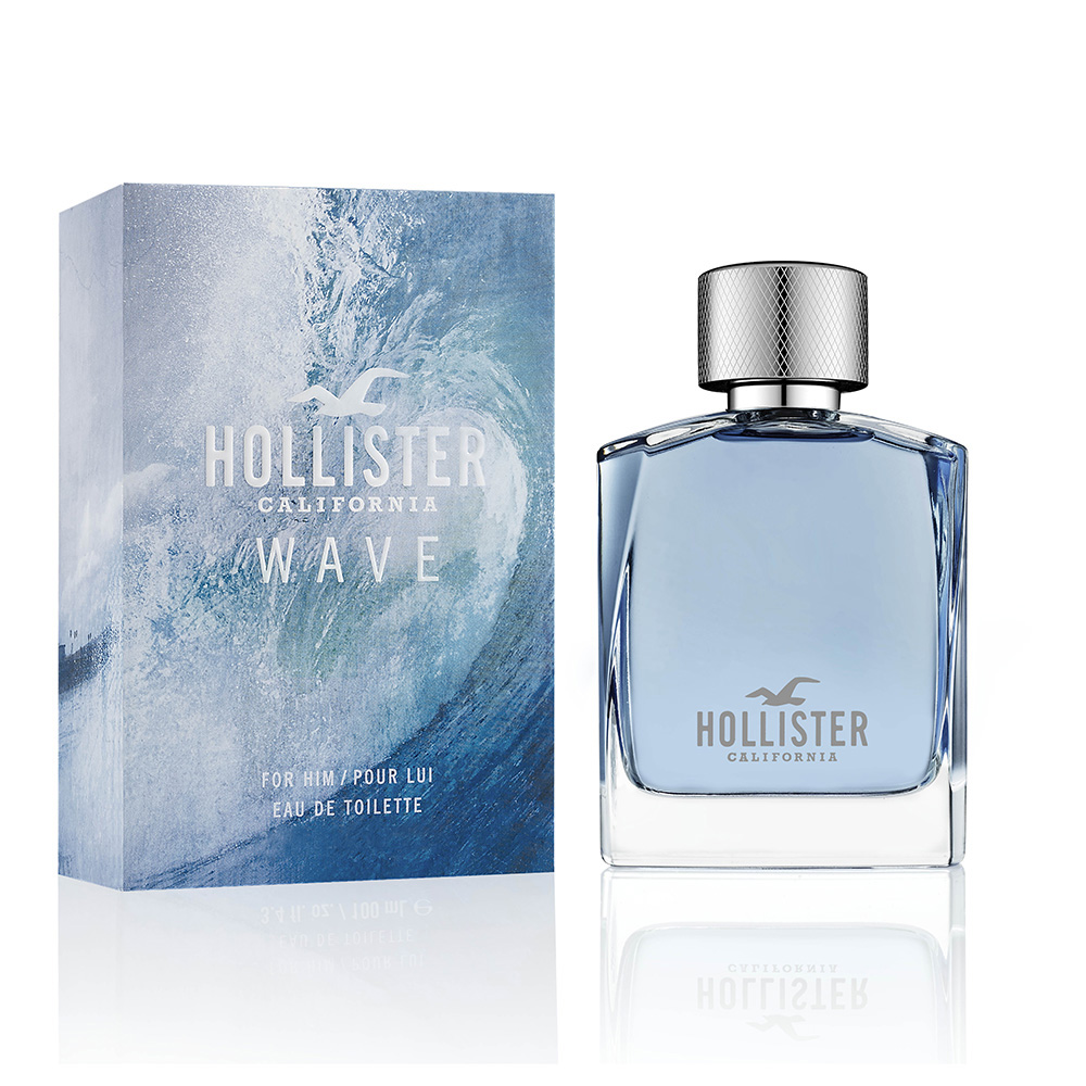 HOLLISTER CALIFORNIA WAVE 加洲海浪男性淡香水100ml+隨機針管